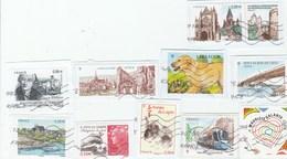 FRANCE 2011 -lot 10 Timbres- YT 4528+4530+4531+4534+4543+4544+4545+ 4552+4553+4554 OBLITERE -TDA199A - Oblitérés