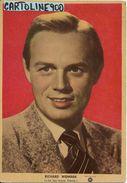 Cinema Attore Attrice Richard Widmark  Anni 50 (cartolina Ed.s.i.p.ci. Milano) - Actors