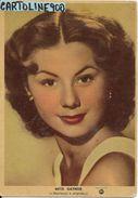 Cinema Attrice Attore Mitzi Gaynor Anni 50 (cartolina Ed. S.i.p. Ci Milano) - Actors