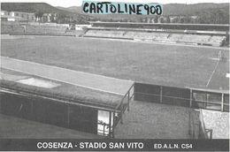 Sport Calcio Stadio Calcio San Vito Stadium Stade Cosenza Calabria - Calcio