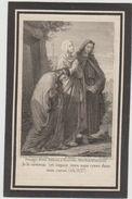 Edmond Cassiers Anvers 1868 1876 Zeer Oud Doodsprentje Image Mortuaire Bidprentje - Images Religieuses