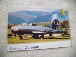 OURAGAN ...DE DASSAULT.....MD 450 ..CHASSEUR ..1949 - 1946-....: Ere Moderne