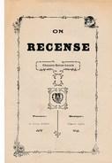 Partition De Musique On Recense  Chanson Revue Locale Paroles De Charles Rameau ( Page Double ) - Musique & Instruments