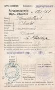 WW1 - 1916 - Territoires Envahis - AUSWEIS - ROCQUIGNY (08) - Documents Historiques