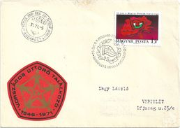6839 Hungary FDC Child Youth Pioneer Flag - Scouting