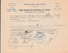 WW1 - 1914 - MIREPEISSET (11) RÉQUISITIONS MILITAIRES  De DEUX CHEVAUX - 1914-18