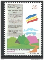 "Andorre Esp. YT 250 "" Manual Digest "" 1998 Neuf** - Andorra Española"