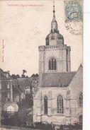 Cp , 62 , BAPAUME , Église St-Nicolas (1577) - Bapaume