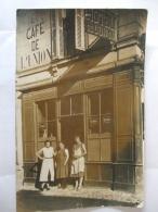 02092017 -  CARTE PHOTO A LOCALISER DE L'HOTEL ET CAFE DE L'UNION - Cafés