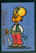 CARTOLINA IN VELLUTO-CARTE POSTALE VELOUR-VELVET POSTCARD-SAMTKARTE-CARCERIERE ARABO - Altri
