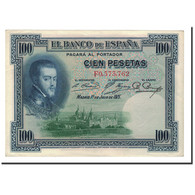 Espagne, 100 Pesetas, 1925, KM:69c, 1925-07-01, SPL - [ 1] …-1931 : First Banknotes (Banco De España)