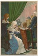 Chromo Récompense Scolaire - Histoire De France - Le 10 Août 1792 - Gibert Clarey, Tours - Artis Historia
