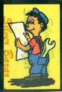 CARTOLINA IN VELLUTO-CARTE POSTALE VELOUR-VELVET POSTCARD-SAMTKARTE-MECCANICO - Cartoline