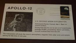 Cover Brief Space, Weltraum Apollo 12  1969     #cover3653 - Etats-Unis
