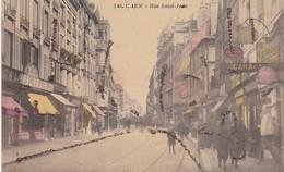 CPA 14 - CAEN - Rue Saint-Jean ( Dorures) - Caen