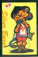 CARTOLINA IN VELLUTO-CARTE POSTALE VELOUR-VELVET POSTCARD-SAMTKARTE-MOSCHETTIERE - Cartoline