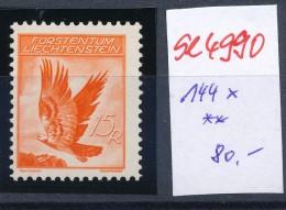 Liechtenstein  Nr.  144x  **   ( Se4990   ) Siehe Bild ! - Abarten