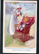 CPA - Illustration Gilson - Les Petites Compensations Du Blessé - Guerre 1914-18