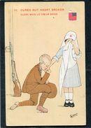 CPA - Illustration ZANE - Guéri Mais Le Coeur Brisé - Guerre 1914-18