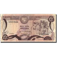 Chypre, 1 Pound, 1979, 1979-06-01, KM:46, B+ - Chypre