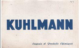 Buvard KUHLMANN -engrais Et Produits Chimiques - Agriculture