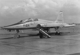 Foto ! Geen Postkaart!   Belgisch Leger  Y-AH Northrop T-38A Talon     Luchtmacht          I 158 - 1946-....: Era Moderna