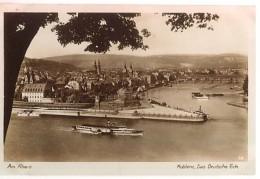 CPA - KOBLENZ - DAS DEUTSCHE ECK ..LE RHIN  - Edition Kratz - Koblenz