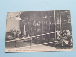 Institut NOTRE-DAME Aus épines Cabinet Physique ( 4) Anno 1910 ( Zie/voir Foto Voor Details POTLOOD ) !! - Eeklo