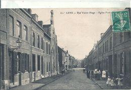 PAS DE CALAIS - 62 - LENS - Rue Victor Hugo - Eglise Protestante - Lens