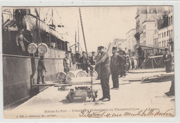 Antwerpen  Scènes Du Port  Débardeurs Déchargeant Un Transatlantique  Edit Hermans N° 603 - Antwerpen