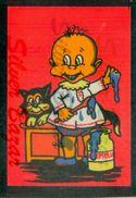 CARTOLINA IN VELLUTO-CARTE POSTALE VELOUR-VELVET POSTCARD-SAMTKARTE-BEBE-GATTO-MARMELLATA - Cartes Postales
