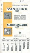 Buvard VANILONE ANA INFANTILE (calendrier Avril 1953) - Produits Pharmaceutiques