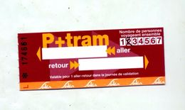 Ticket Parc Tram Mulhouse - Tramways