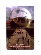 Carte Entree Geode Cite Des Sciences - Autres Collections