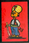 CARTOLINA IN VELLUTO-CARTE POSTALE VELOUR-VELVET POSTCARD-SAMTKARTE-CARCERIERE ARABO - Cartoline