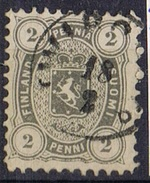 DO 5752  FINLAND GESTEMPELD  YVERT NRS 13a ZIE SCAN - 1856-1917 Administration Russe