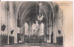 154. - MARPIRE (I.-et-V.) Intérieur De L'Eglise CPA - France