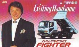 Télécarte Japon *  * 4088 * JACKIE CHAN *  *  JAPAN Phonecard * TK * FILM * CINEMA * KINO - Film