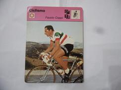 CICLISMO FAUSTO COPPI SCHEDA TECNICA  EDIZIONE RIZZOLI 1977. - Sport