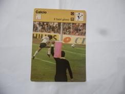 CALCIO IL FUORI GIOCO SCHEDA TECNICA  EDIZIONE RIZZOLI 1977. - Sport