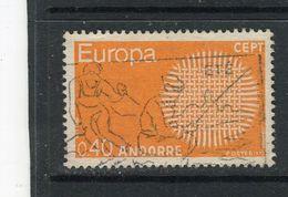 ANDORRE - Y&T N° 202° - Europa - Gebraucht