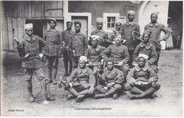 CPA MANDRAY CLAIRONS SENEGALAIS ( CORRESPONDANCE  MANDRAY) - France