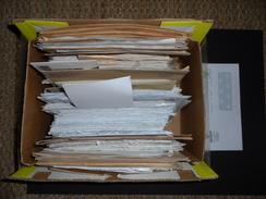 Enorme Lot D'enveloppes Avec Flammes - EMA - LISA - PAP - Vieux Papiers