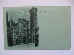 ITALY - FIRENZE - La Facciata Della Cathedrale -Stengel & Co., Dresden M.11870 - 1899 - Firenze (Florence)