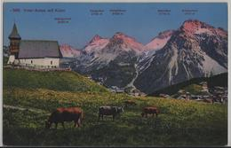 Inner-Arosa Mit Kulm - Küche, Kirche, Vaches - Photoglob - GR Grisons