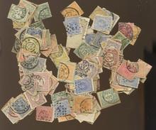 Anciens Timbres Oblitérés  Bien Plus De Mille Timbres   Hoeveelheid Voor 1920 Ø - Period 1891-1948 (Wilhelmina)
