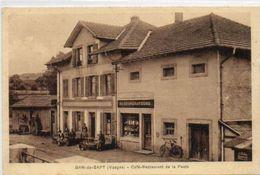 88   BAN- De -SAPT       Café Restaurant De La Poste - France
