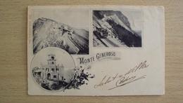SUISSE SVIZZERA Schweiz  HELVETIA POST CARD FROM MONTE GENEROSO SEND - Altri