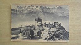 SUISSE SVIZZERA Schweiz  HELVETIA POST CARD FROM RIGI KULM NOT SEND - Altri