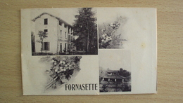 SUISSE SVIZZERA Schweiz  HELVETIA POST CARD FROM FORNASETTE PONTETRESA SEND - Altri